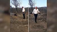 Yangın bölgesinde fotoğraf çekip ayrılan Muharrem İnce'ye tepki: Poz vermeyle olmaz icraat yap icraat