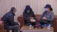 Polisin ikna çalışması sonucu teslim oldular: İki kadın terörist aileleriyle buluştu
