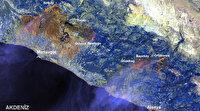 Manavgat'taki yangın 30 bin 632 hektarlık alanda etkili oldu: Yüzey sıcaklığı 95 dereceye ulaştı