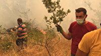 Antalya Gündoğmuş'taki orman yangınları nedeniyle bazı mahalleler tahliye edildi