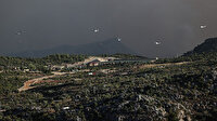 Antalya Gündoğmuş'ta yangına havadan müdahale: Helikopterlerin biri geldi biri gitti