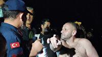 Karasu'da yaklaşık 8 saat yüzen kişi vatandaşın dikkati sayesinde kurtarıldı: Boğulmak üzereydi