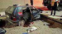 Tünelde kaza yaptı cesedi bir gün sonra bulundu