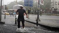 Meteorolojiden iki bölge için kuvvetli yağış uyarısı: Turuncu alarm verildi