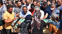 İzmir'deki feci kazada can veren 7 kişi gözyaşlarıyla son yolculuklarına uğurlandı