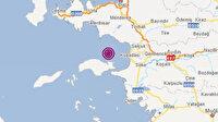 Aydın'ın Kuşadası ilçesinde korkutan deprem