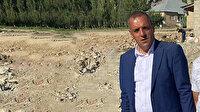 Sel afetinin yaşandığı Van Esenyamaç'ın Muhtarı Ayhan Korkmaz: Bazı partiler gelip 'Devleti kötüle' diyor