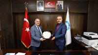 Arhavi Belediyesi'nden DİSKİ'ye teşekkür ziyareti
