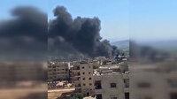 Afrin'e roket ve havanlı saldırı düzenlendi