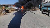 PKK'lı teröristler Afrin'i yine kana buladı: Üç sivil hayatını kaybetti