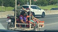 Kadıköy'de tehlikeli yolculuk