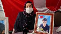 Evlat nöbetindeki anneden HDP'ye sitem: Onlar olmasaydı kimse çocukları dağa götürmezdi
