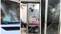 Diş ağrısına ambulans gelmeyince 112 istasyonu ve ambulansa taşla saldırdı