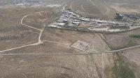 'Van Seddi' havadan görüntülendi: 295 km'lik sınır hattına duvar örülüyor