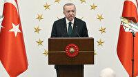 Cumhurbaşkanı Erdoğan madalyalı sporcuları Beştepe'de misafir etti: Ülkemize yaşattığınız gurur için hepinize teşekkür ediyorum