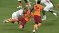 Galatasaray-Hatayspor maçında sosyal medyada gündem olan pozisyon