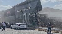 İkitelli'de bir bina çöktü: Çok sayıda itfaiye ekibi sevk edildi