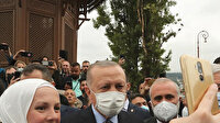 Bosna Hersek'te bulunan Cumhurbaşkanı Erdoğan'a sevgi seli
