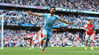 City oynadı Arsenal izledi