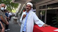 Kazada vefat eden Astsubay Osman Kapusuz'un cenaze namazını imam babası kıldırdı