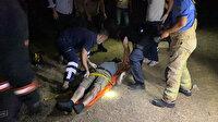 Ayağı kayınca şelaleden düştü: Olay yerine gelen sağlık görevlisi büyük şok yaşadı!