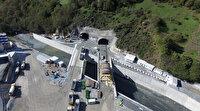 Dünyanın üçüncü en uzun çift tüplü tünelinde sona yaklaşıldı: Erzurum ile Trabzon arasında lojistik koridor olacak