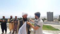 Yeni Şafak'ın Taliban komutanıyla röportajı sırasında Kabil Havalimanı'nda patlama meydana geldi