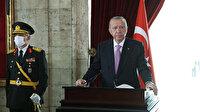 Cumhurbaşkanı Erdoğan Anıtkabir'de: Türkiye Cumhuriyeti emin ellerde