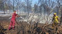 Manisa'da korkutan orman yangını: Kısa sürede kontrol altına alındı