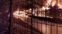İkitelli Çevre Oto Sanayi Sitesi'nde çıkan yangın söndürüldü