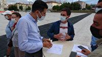 Samsunlu doktor aşı karşıtı vatandaşı yapığı çizimle yarım saatte ikna etti