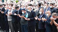Cumhurbaşkanı Erdoğan Rize'de cenaze törenine katıldı