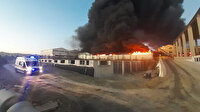 İstanbul Silivri'de fabrika yangını: Dumanlar kilometrelerce uzaklıktan görüldü