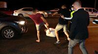 Altı kişinin yaralandığı kaza sonrası alkollü sürücüye dayak