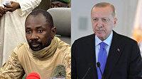 Cumhurbaşkanı Erdoğan Mali Geçiş Dönemi Devlet Başkanı Assimi Goita ile görüştü