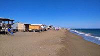 'Çardak Beach' tatil sezonunu uzattı: Beş yıldızlı otellerin yakınında denize sıfır tatil devam ediyor