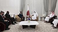 ABD Dışişleri ve Savunma Bakanları Katar Emiri ile görüştü: Gündem Afganistan