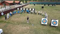 Aynalı Çeşme Camii Gençlik Merkezi Geleneksel Türk Okçuluğu Turnuvası düzenledi