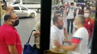 """Otobüste """"fazla yolcu aldın ilerle"""" kavgasında otobüs şoförü kanlar içinde kaldı"""