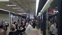 Topkapı-Mescid-i Selam Tramvay Hattı arıza yaptı