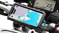 Apple telefon tutacağı kullanan motosiklet sahiplerini uyardı