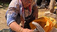 Bu köyün 200 yıldır geçim kaynağı: Bölgeye has toprakla kaynatılıyor kilosu 40 TL'den satılıyor