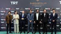 """TRT'nin merakla beklenen dizisi """"Barbaroslar Akdeniz'in Kılıcı""""nın galası yapıldı"""