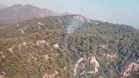 Muğla Marmaris'te orman yangını