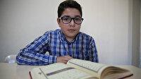 Mardin'de 8 ayda hafız olan 12 yaşındaki Bilal Türkiye birincisi olmak için çalışıyor