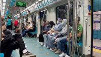 Marmaray'da maskesiz yolculara makinistten anonslu uyarı: İnsanların sağlığıyla oynamaya hakkınız yok