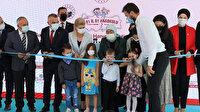 AK Parti'li Binali Yıldırım'ın eşi Semiha Yıldırım Kırklareli'nde anaokulu açılışı yaptı