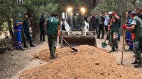 Validebağ Korusu'nda inşaat yapılıyor yalanı: Molozlar temizlendi toprak yol yapıldı