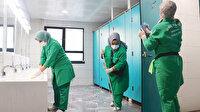 Okullarda temizlik hızla devam ediyor