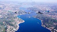 MSB paylaştı: Türkiye ve Azerbaycan uçaklarının İstanbul Boğazı'nda selamlama uçuşu